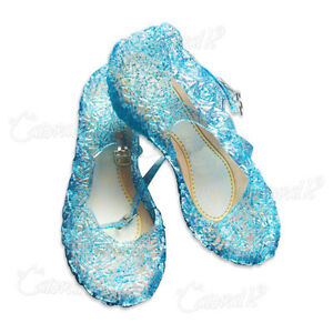 Sale-Girls-Blue-Shoes-For-Frozen-Elsa-Fancy-Dress-Up-Cosplay-Jelly-Party-Costume