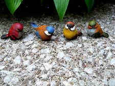 3rd Mini Resin Bird Figurine (1 bird only)