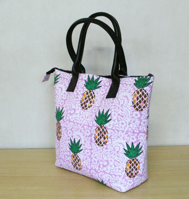 Details about  /Cotton Hand Block Printed Handbag Mandala Tote Shoulder Bag Women Shopping Bags