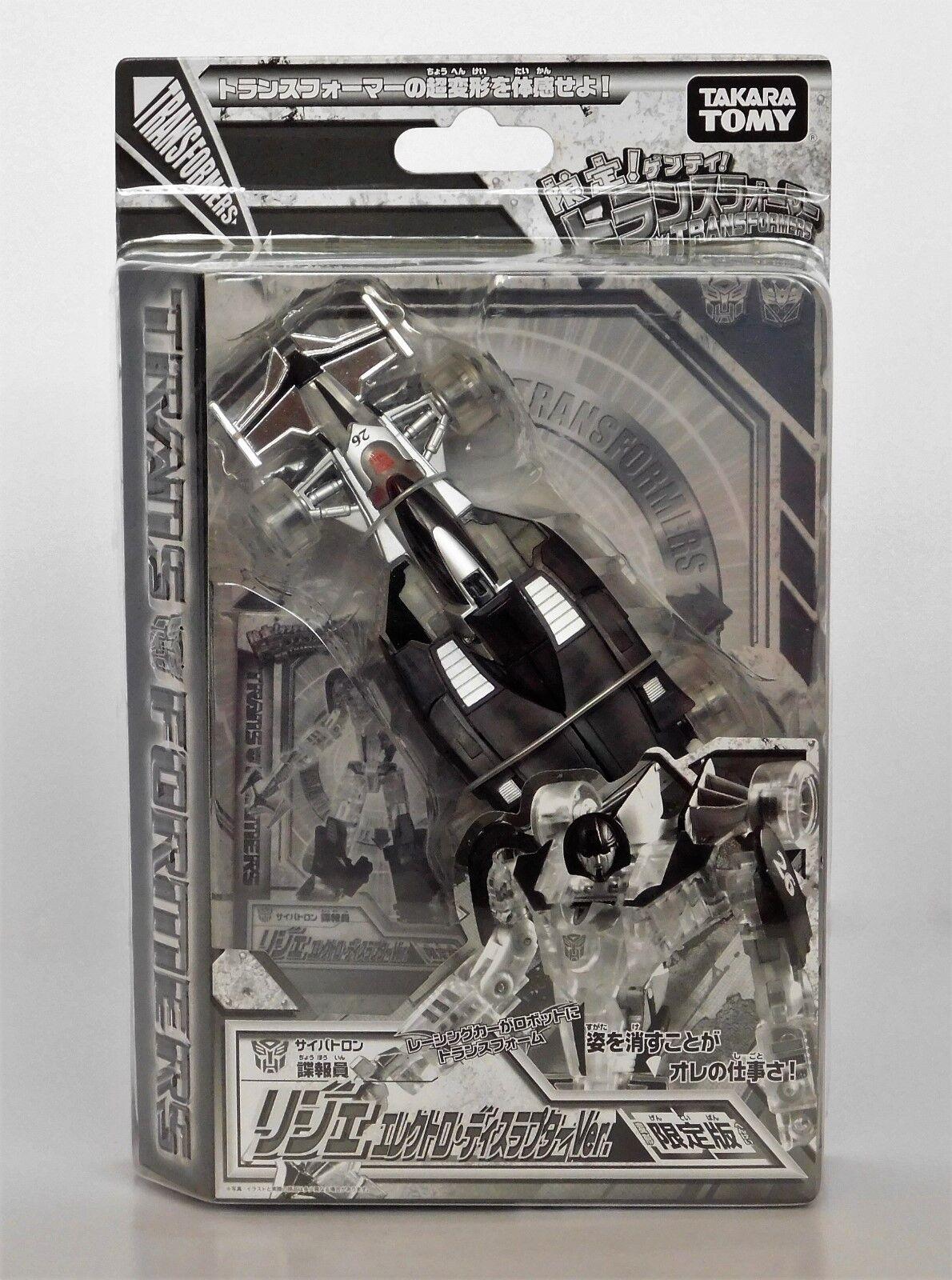 Rare 2009 TRANSFORMERS HENKEI classeeIC  DISRUPTOR LIGIER MIRAGE   Mail Away_ MOC  grandi prezzi scontati