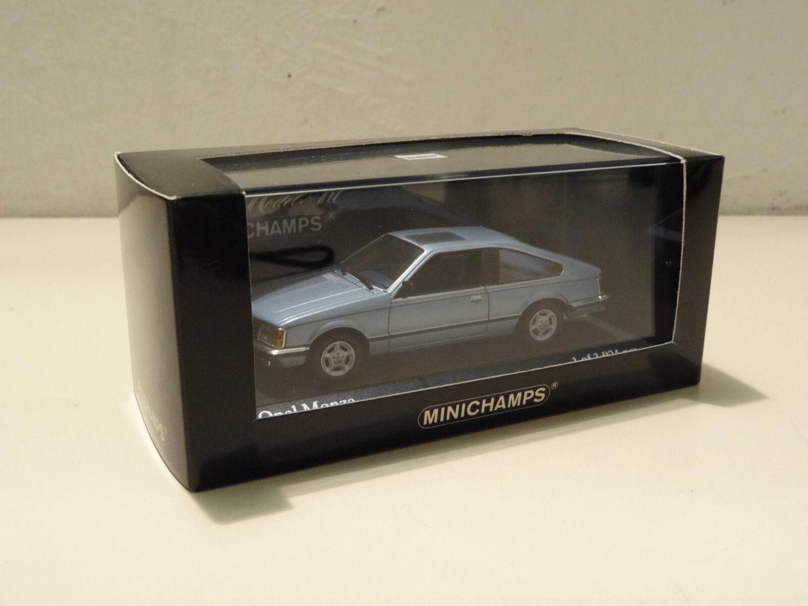 Opel Monza 30 E - 1980 - Aquamarinblue bluee Metallic - Minichamps 1 43