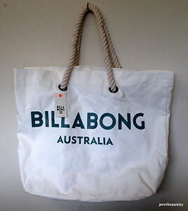 Details About Billabong New Las Essential Beach Bag Cool Wip Large Surf Logo Ping