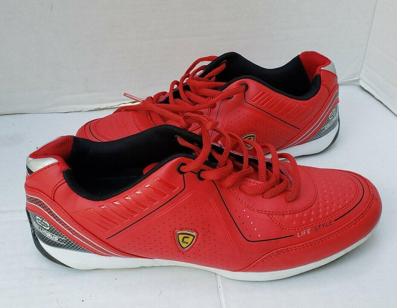 Columbus Sports ZIMMY Homme Chaussures De Course paniers rouges homme 11 44