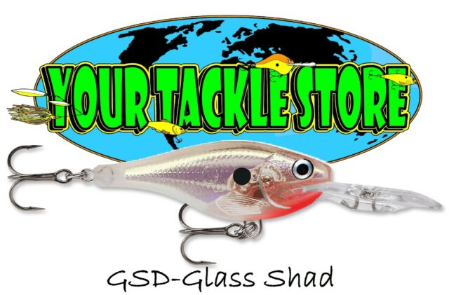 Rapala GSR07 Glass Shad Rap Pick Colors /& Qty NIP
