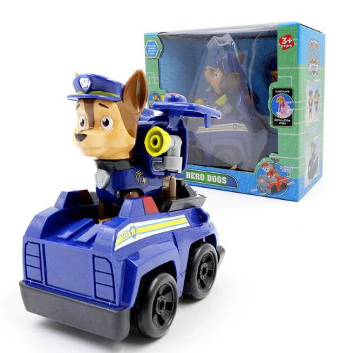 PAW PATROL Kinder Spielzeug Marshall Rubble Rocky Chase Skye Pups Figuren NEU