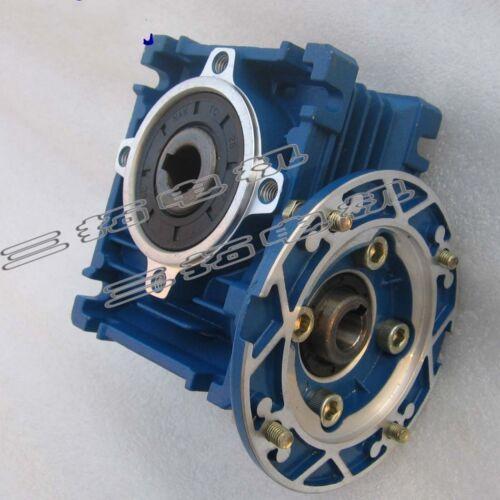 1PCS AC 0.18KW 1400RPM Aluminum Alloy Flange Worm Gearbox  NMRV 030-63B14