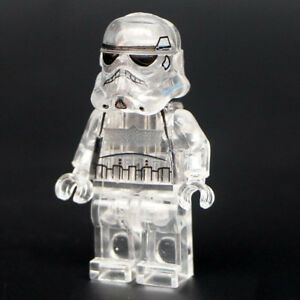 Star-Wars-Stormtrooper-Lego-DYI-Minifigure-Brand-New-Sealed-Transparent-Figure