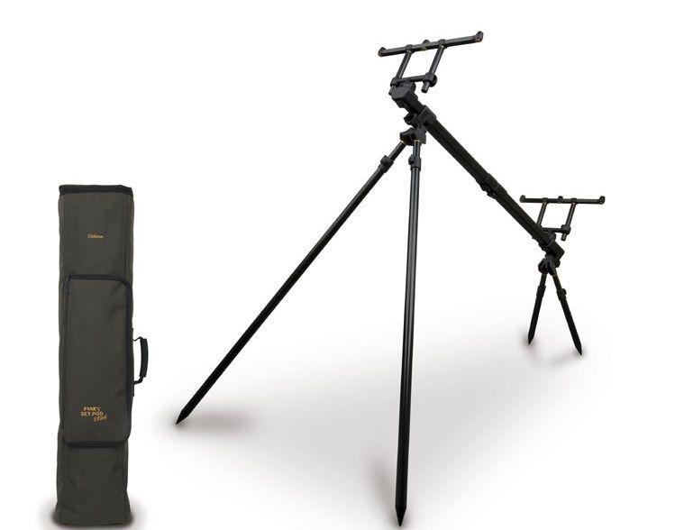 Fox Himmel Gehäuse - 3 Rod Pod Inc. Case Angeln