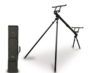 Fox Sky Pod - 3 Rod Pod Inc.  Case   Fishing  with 60% off discount