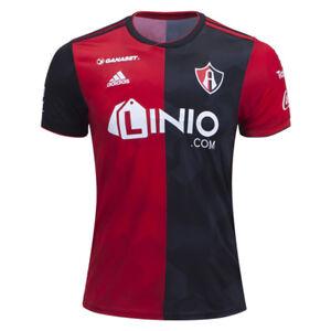 adidas-Men-039-s-Atlas-FC-18-19-Home-Jersey-Red-Black-CW5533