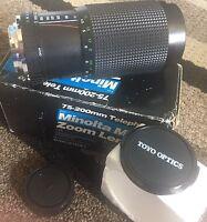 Minolta Mount Mc Auto 75-200mm F 4.5 Zoom Macro Lens