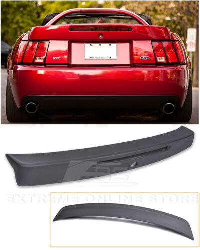 For 99-04 Ford Mustang CBR Style Rear Trunk Wing Spoiler Brake Light Insert
