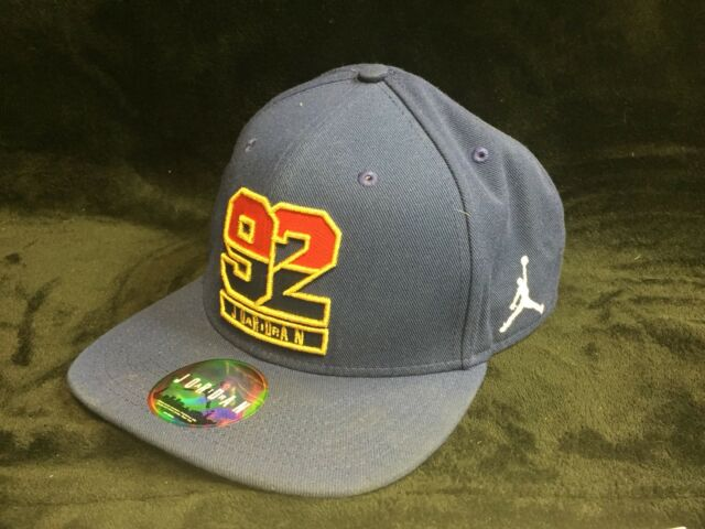 d0e6a24b5f0 Jordan Olympic 7 Dream Team 1992 Retro Snap Back One Size Blue 823526-455