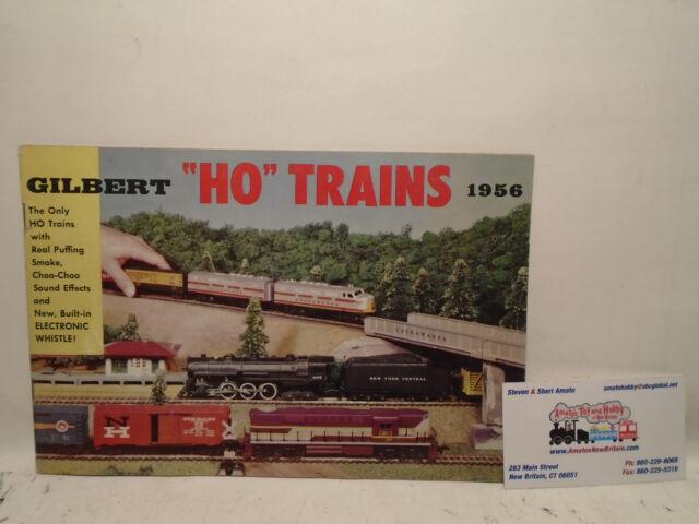 Original 1956 Gilbert HO Trains Catalog #d1904