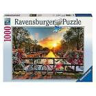 Ravensburger 1000 Piece Bicycles in Amsterdam Adult Puzzle - 19606