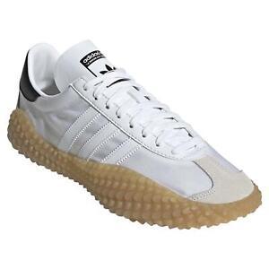 Adidas Originals Men's Country X Kamanda Baskets Baskets Chaussures Blanc Neuf Bnwt