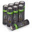miniature 16 - Rechargeable Haute capacité AAA/AA Batteries Et 8-Way dock de chargement-Venom