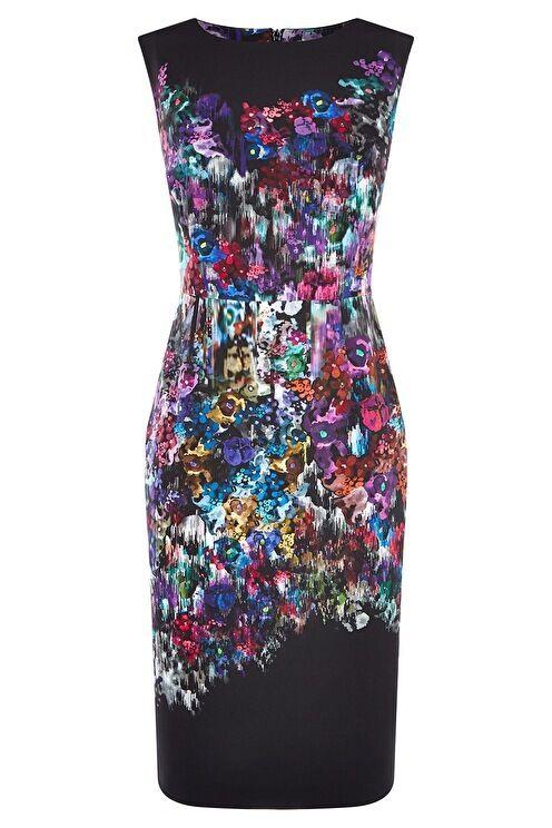 Fenn Wright Manson Northern Lights Dress Size Petite rrp  LF076 LL 06