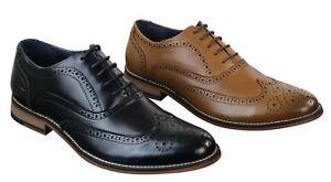 54a4ceda3 Détails sur Chaussures homme cuir véritable brogues Richelieu style Gatsby  chic rétro