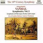 Johann Baptist Vanhal - : Symphonies, Vol. 2 (2000)