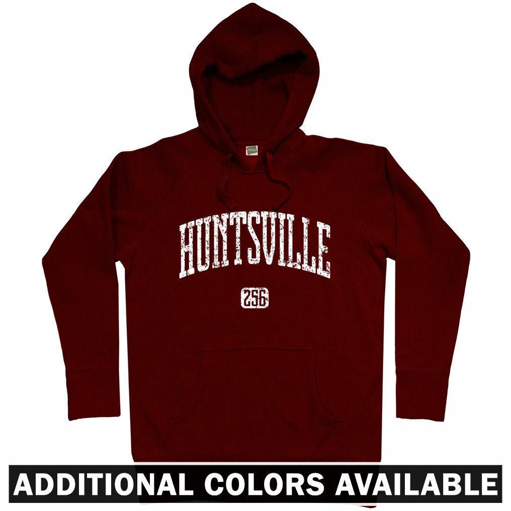 Huntsville 256 Hoodie - AL Alabama HSV UAH Chargers Havoc Univeristy - Männer S-3XL