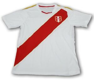 b401d561b Peru National Soccer Team Men s Home Jersey Copa Mundial de Futbol ...
