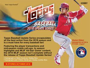 2018-Topps-Update-Baseball-Singles-Finish-Your-Set-US1-US150