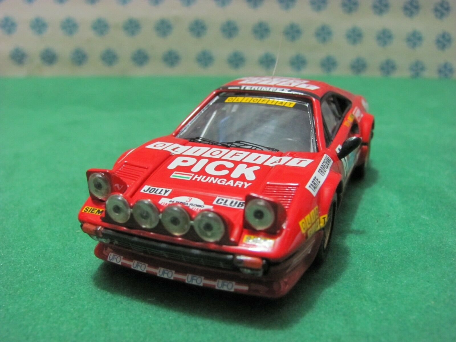 Ferrari 308 Gtb Gr 3000cc. Coupe   Targa Florio 1980   - 1 43 Best 9376