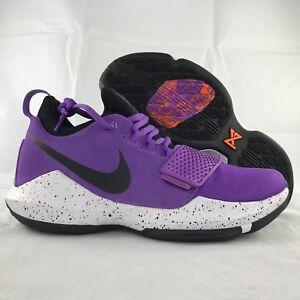 best value 1f21a 23c28 Details about Nike PG 1 Bright Violet Purple Black White Paul George  878627-500 Men's 10.5