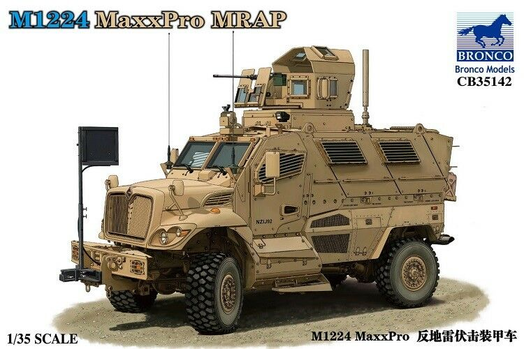 Bronco CB35142 1 35 M1224 MaxxPro Mrap