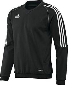 adidas-Maenner-Trainingsshirt-schwarz-Sweatshirt-Gr-XS-S-M-L-XL-XXL-XXL