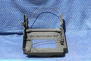 Seat-Shell-Bottom-Frame-Bracket-amp-Lever-RH-Passenger-89-90-91-1992-C4-Corvette