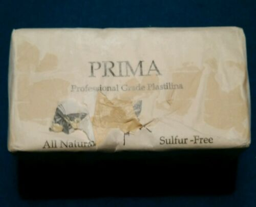 Sculpture House Prima Plastilina Modeling Clay, Sulphur Free, Light Tan, 2 lb