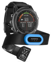Garmin Fenix 3 Hr Sapphire Gps Triathlon Heart Rate Monitor Multi-sport Watch