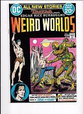 Weird Worlds #1 1st DC John Carter Warlord Of Mars September 1972