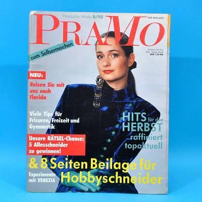 ZuverläSsig Ddr Pramo 8/1990 Praktische Mode Schnittmuster Gewebe Venezia Blue Denim Hosen B Direktverkaufspreis