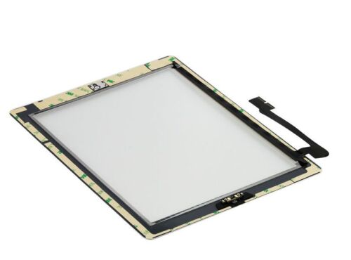 OEM White Glass Touch Screen Digitizer Home Button Assembly For iPad 3 4 Tools