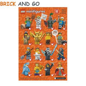 LEGO-Minifig-Figurine-Minifigure-71011-Serie-15-Series-15-Au-Choix-NEUF-NEW
