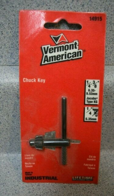 Vermont American 14915 3//8-inch Replacement Cordless Chuck Key for sale online