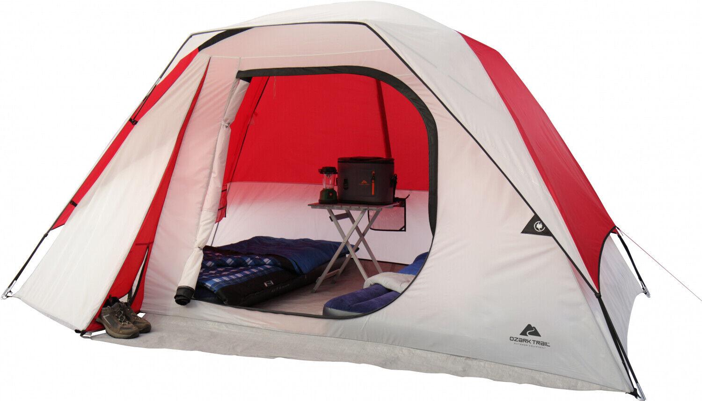 Ozark Trail 6 Person Dome Camping Tent 2 Season