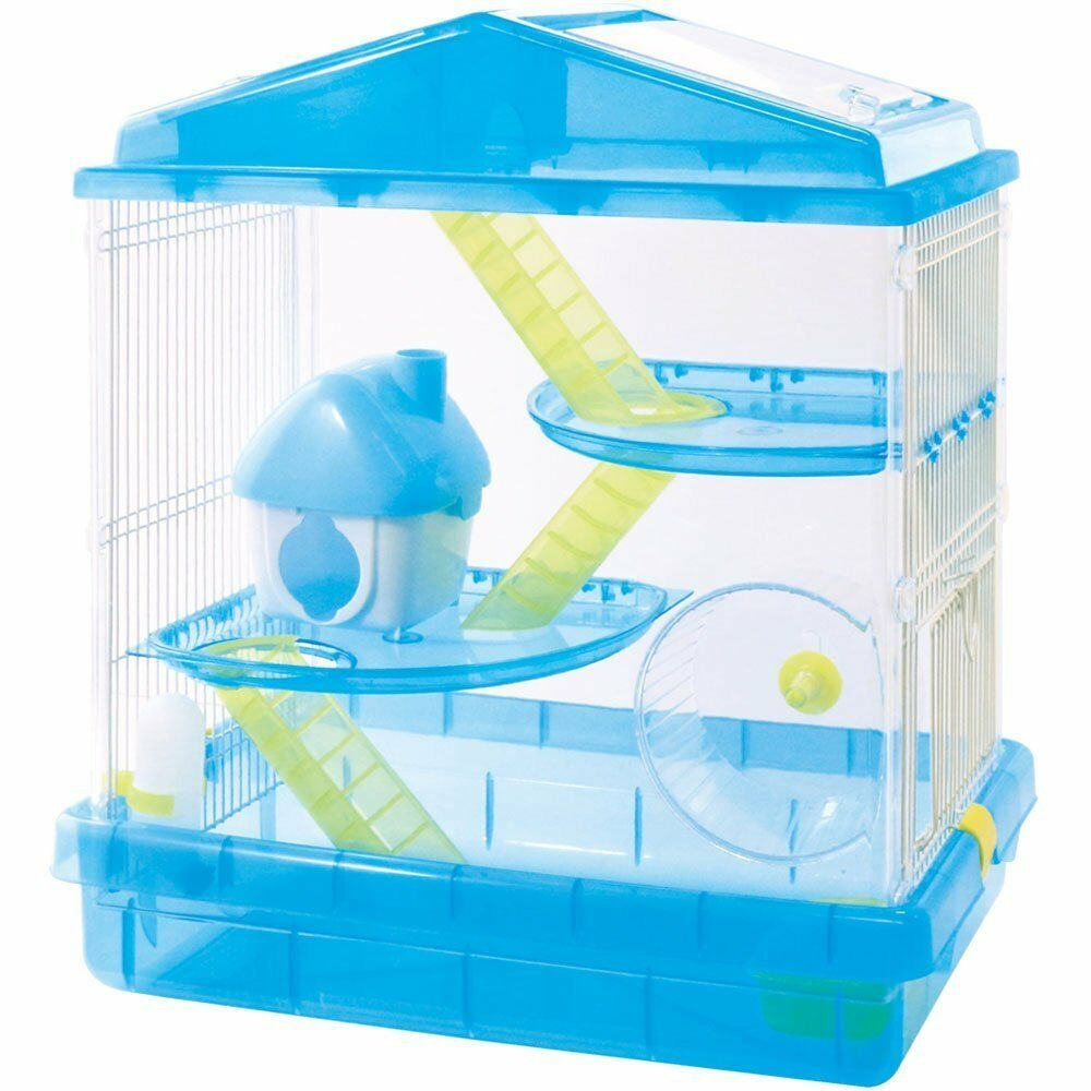 Hamster Cage Three-story + Loft House blu Japan
