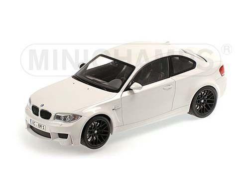 Minichamps 2011 BMW M1 Series Alpine bianca 1 18 New Item