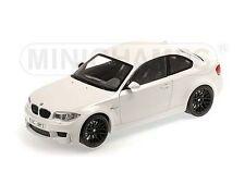 Minichamps 2011 BMW M1 Series Alpine White 1:18* New Item!