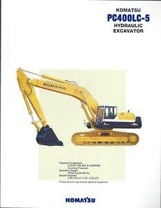 Equipment-Brochure-Komatsu-PC400LC-5-Excavator-c1994-E4955