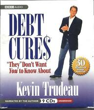 """NEW - Debt Cures """"They"""" Don't Want You to Know About by Kevin Trudeau"""