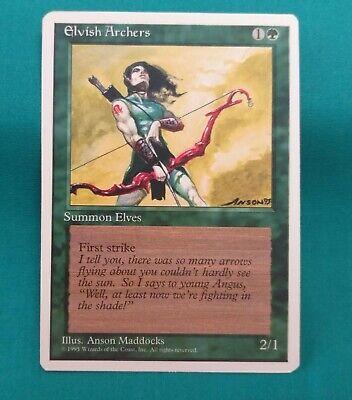 1x Elvish Archers 4th Edition MtG Magic Green Rare 1 x1 Card Cards