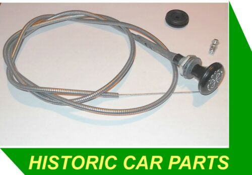 MGBGT /& MGB ROADSTER 1970-72 Verrouillage starter cable /& Logo /& Passe-fil Wire Clamp