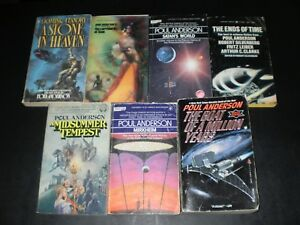 POUL ANDERSON 7 BOOK VINTAGE SCIENCE FICTION LOT 1970'S | eBay