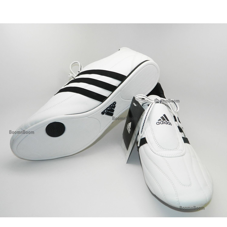 Nuove bianco arti marziali taekwondo scarpe adidas adi-kee karate scarpe bianco Nuove / bk misura 4,5 417f65
