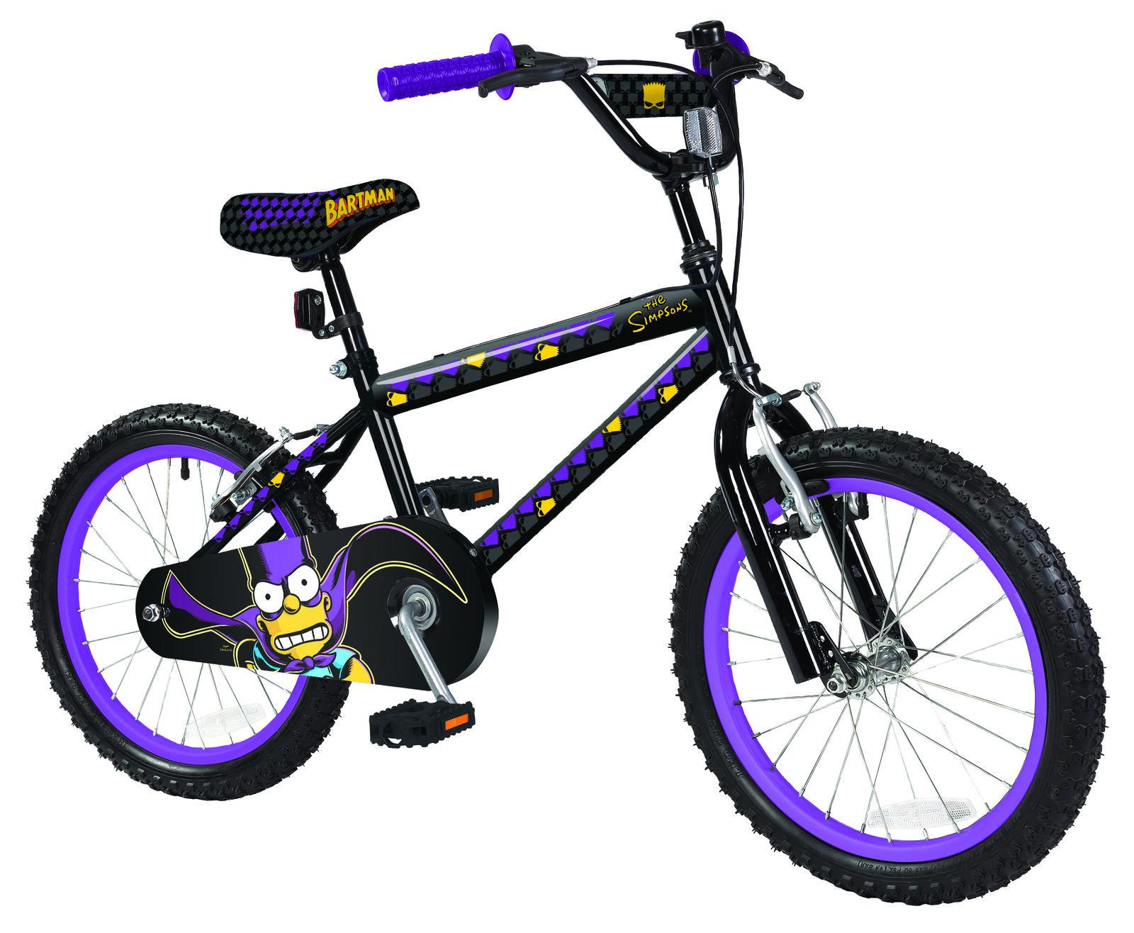Los Simpsons m04914-00 00-mor obsesión 16  ruedas BMX Art-bicicleta ajustable -